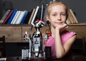 少女とロボット